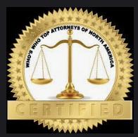 award for top attorneys in north America - Weiss Zarett